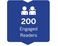 200 Engaged Readers