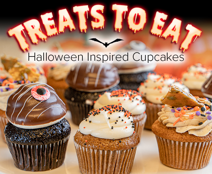 TREATS TO EAT | Halloween Inspired Cupcakes