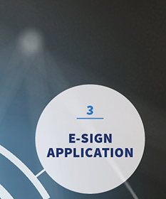 3 | E-SIGN APPLICATION