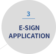 3 | E-SIGN APPLICATION